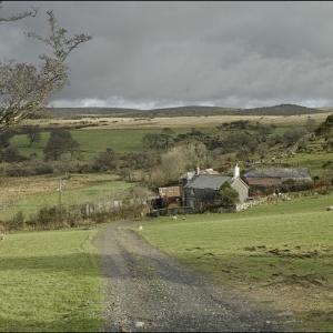 Nattor farm looking north into the moor