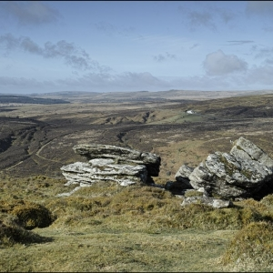 West from Birch Tor