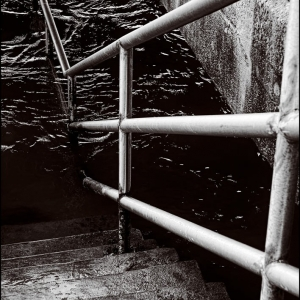 Step down to the inky depths